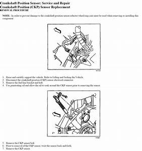 How To Remove Crank Sensor From A 2002 Chevy Avalanche