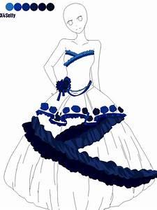 Doll Base 12 - Dress by x4Selfy on DeviantArt