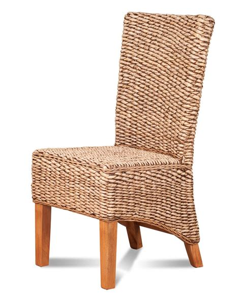 dining chair light banana leaf weave rattan furniture