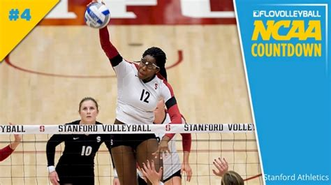 Ncaa Volleyball Countdown 4 Stanford Flovolleyball