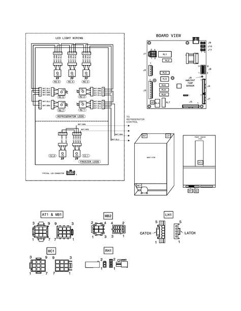 frigidaire fghg2366pf2a bottom mount refrigerator genuine parts