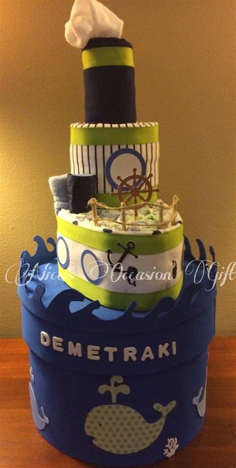 Tugboat Cake by 17 Best Ideas About Boat Diaper Cake On Pinterest