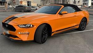 Rent Ford Mustang in Dubai - CarRentalDXB