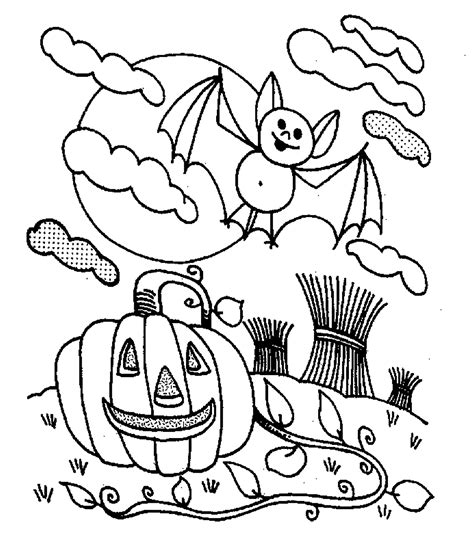 Halloween Coloring Pages for Kids 100 Pictures Print