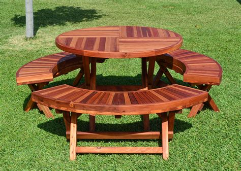 lifetime round picnic table round folding picnic tables built to last decades
