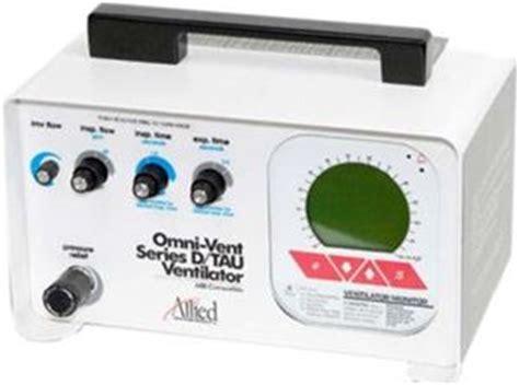 allied omnivent mri compatible ventilator providing