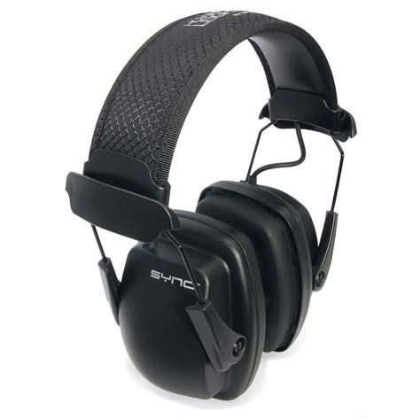 howard leight sync stereo earmuffs with audio input