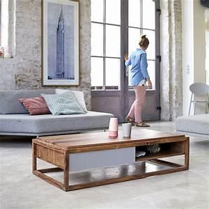 Table Basse En Solde : 53 id es de table basse d co pour votre salon ~ Teatrodelosmanantiales.com Idées de Décoration