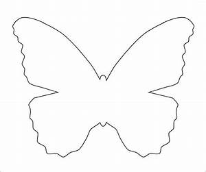10 butterfly samples pdf sample templates for Butterfly template pdf