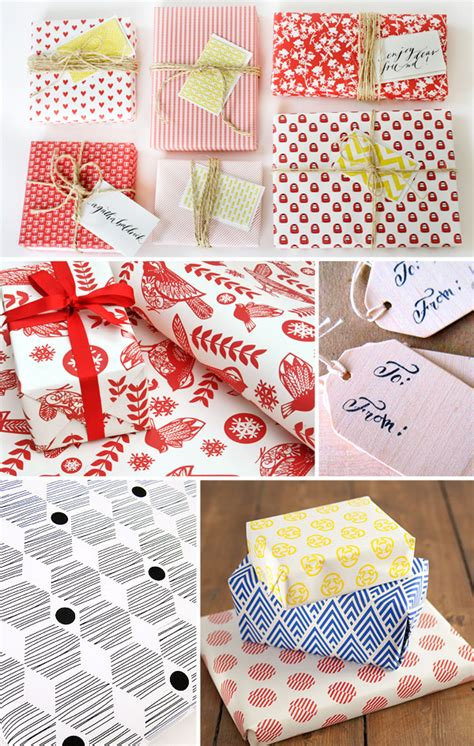 holiday gift wrap inspiration part 2