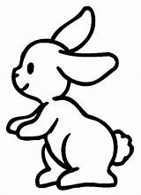 Rabbit Coloring Pages Children Printable Adult Justcolor sketch template