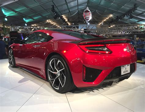 2017 acura nsx vin 001 sells for 1 2 million 95 octane