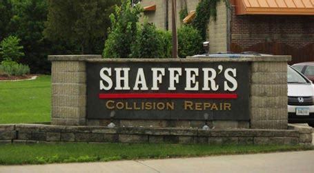 shaffers auto body  ames ia iowa car repair auto