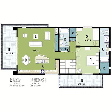 Contemporary Plan Ultra Modern House Plan