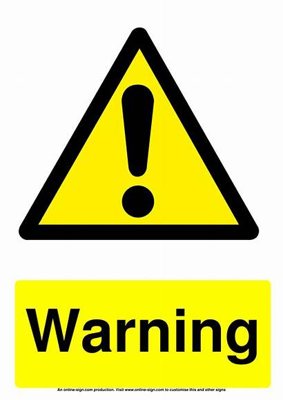 Warning Signs Sign Danger Fumigation Warn Template