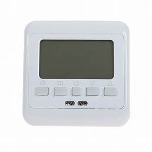 Digital Thermostat Weekly Programmable 16a 230v Ac Wall