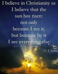 Why I Love Bein... Lewis Love Quotes