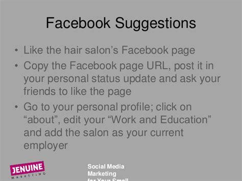 hair salon facebook