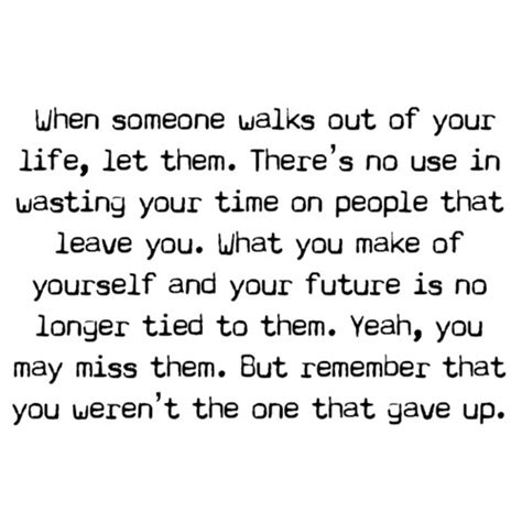 quotes  people leaving  life quotesgram