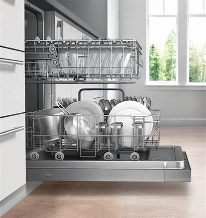 Rack Dishwasher Wider Samsung Third Taller Easily