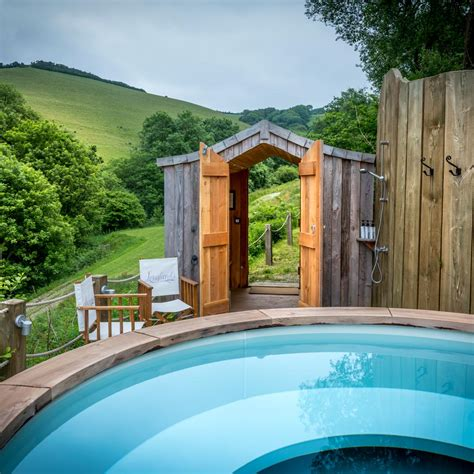Lodges With Tub by Gling Lodges With A Tub Longlands Luxury Gling