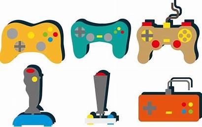 Clipart Playstation Gaming Controller Joystick Transparent Retro