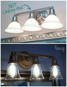Can You Spray Paint Bathroom Fixtures by How To Change Brass And Chrome Light Fixtures To