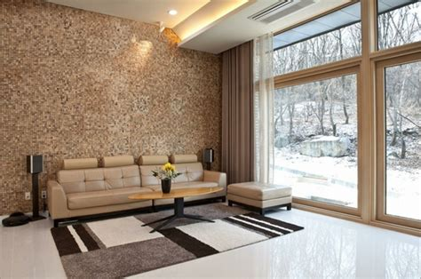 Ideen Wohnzimmer Wände Gestalten Rheumricom