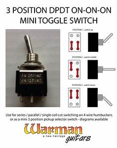 3 Position Toggle Switch Guitar Wiring Diagram