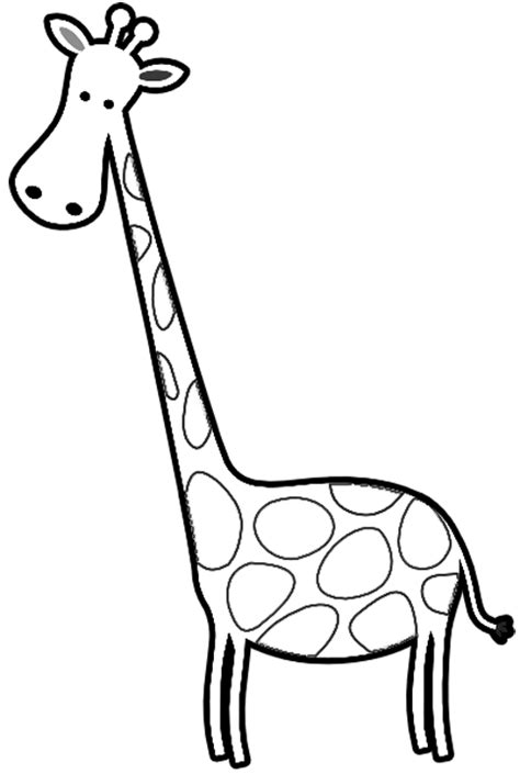 103 giraffe black and white free clipart images. Giraffe Clipart Black And White | Clipart Panda - Free ...