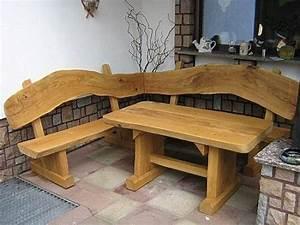 Rustikale Tische Aus Holz : rustikale holzm bel gartenb nke aus holz ~ Indierocktalk.com Haus und Dekorationen