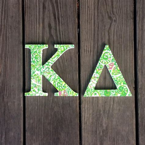 lilly pulitzer sorority letters kappa delta lilly pulitzer inspired wooden letters sorority 23449 | il 570xN.1047343287 7m8r