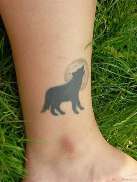marvelous wolf tattoos  leg