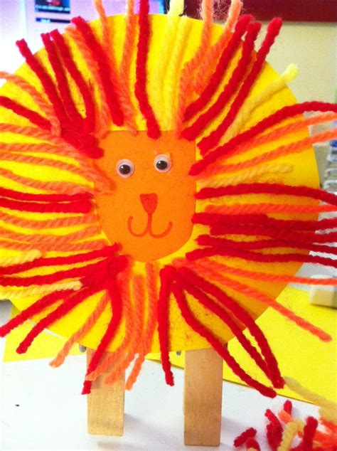 stunning lion craft design ideas  kids