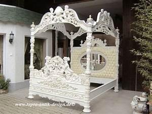 Himmelbett Weiß Holz : himmelbett bett antik wei barock engel gold barockbett spiegel polsterbett antik bett ~ Yasmunasinghe.com Haus und Dekorationen