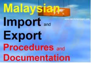 malaysian import export procedures documentation training With export documentation training