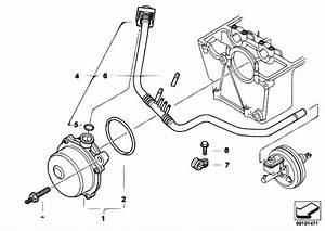 Original Parts For E65 740d M67 Sedan    Engine   Vacuum