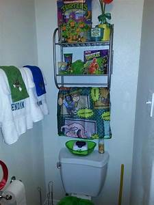 tmnt bathroom idea for hunter39s bathroom home With tmnt bathroom set