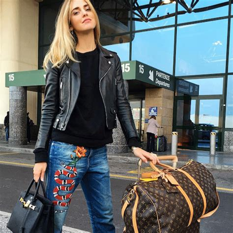 Cute Airport Outfit Ideas From Real Girls   WhoWhatWear