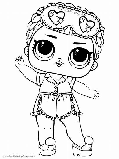 Lol Doll Surprise Coloring Dolls Pages Colouring