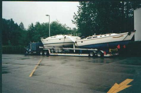 Should You Tow Your Boat With The Cover On by Trucking A Boat Across America