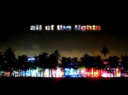 Neon Night Miami Lights Silhouette Street Multicolor