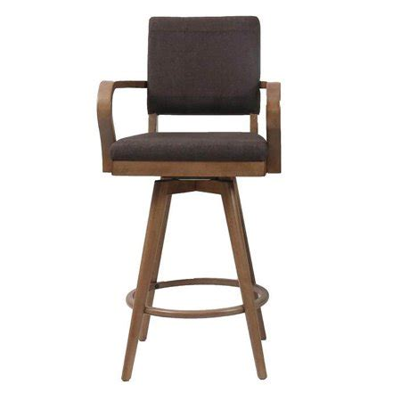 Cushioned Bar Stools With Arms by Mid Modern Padded Back Pair Of Bar Stools With Arms