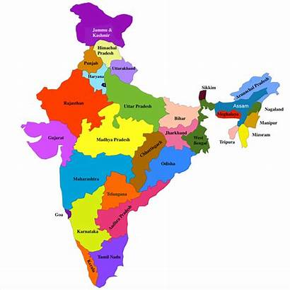 India North States Northeastern Map East Transportation