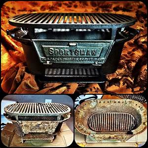 Birmingham Stove and Range Sportsman Grill complete. This ...