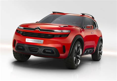 Citroen Uncovers Quirky Aircross Crossover Concept For