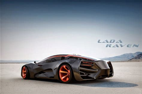 2015 Lada Raven Supercar Concept Picture #08