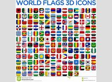 Flags Of The World Countries Stock Illustration Image