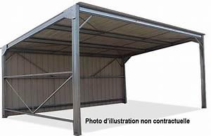 Mezzanine Metallique En Kit : abris m talliques direct batiment ~ Premium-room.com Idées de Décoration
