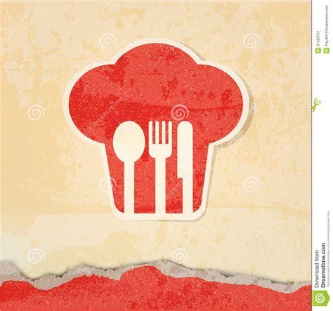 Restaurant Menu Retro Poster Stock Image   Image: 21635741